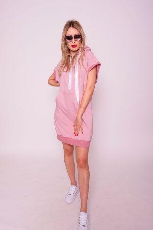 šaty z teplakoviny